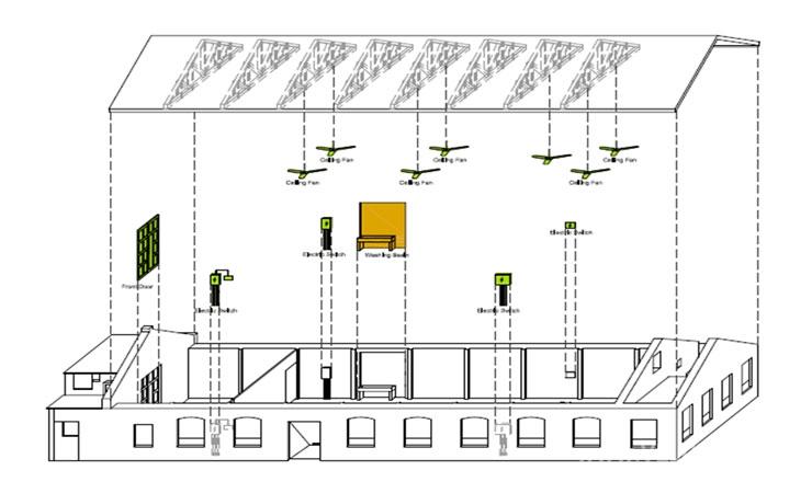 两层楼书店设计平面图